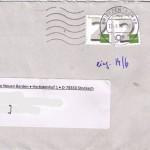4 Cent Porto für unseren Bardenbrief
